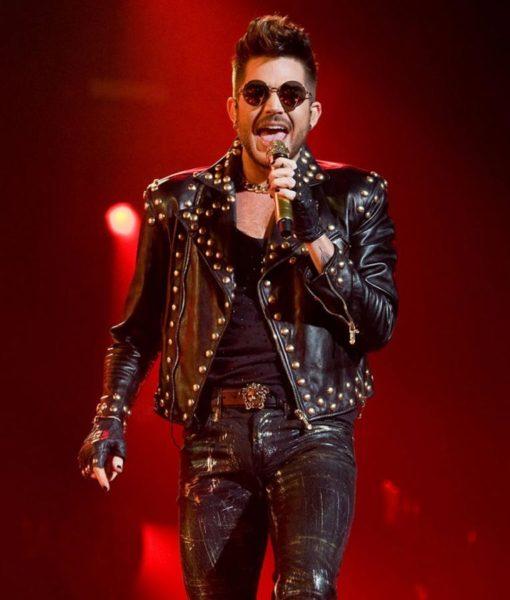 Adam Lambert Studded Jacket