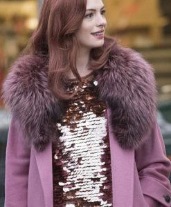 Anne Hathaway Coat