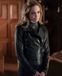 Caity Lotz Leather Jacket