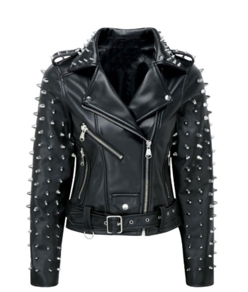 Billie Studded Biker Jacket