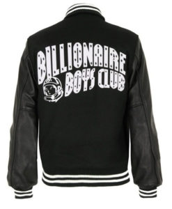 Billionaire Boys Club Letterman Bomber Jacket