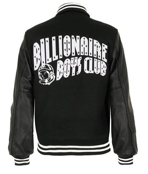 Billionaire Boys Club Letterman Bomber Jacket