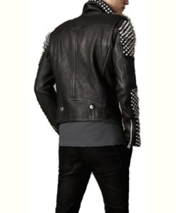 Spikes Studded Motorcycle Jacket