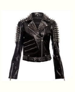Spikes Studded Punk Jacket