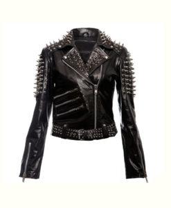 Spikes Studded Punk Jacket