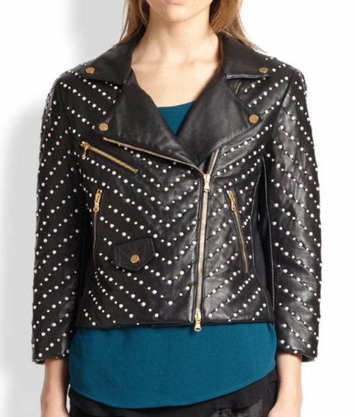 Black Double Zipper Jacket