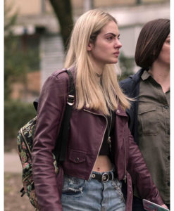 Blanka Success Leather Jacket