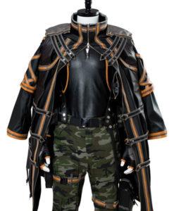 Yakumo Leather Coat