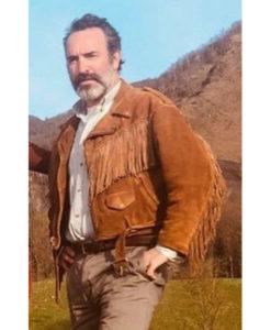 Deerskin Jean Dujardin Fringe Jacket