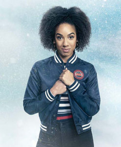 Twice Upon A Time Bill Varsity Jacket