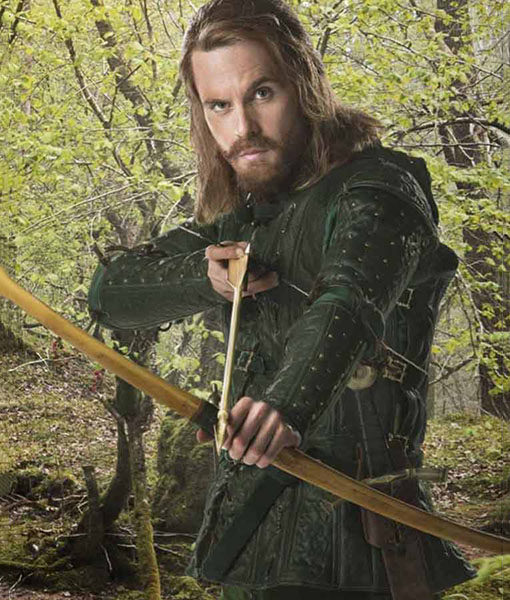 Doctor Who Robin Hood Green Jacket
