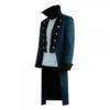 Dolittle Robert Blue Trench Coat