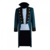 Downey Jr Blue Trench Coat