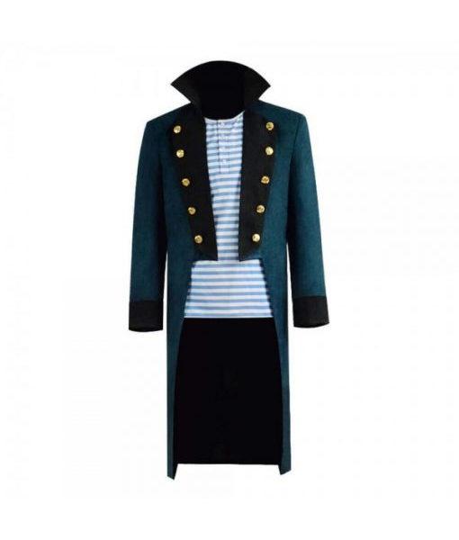 Dolittle Robert Downey Jr Blue Trench Coat