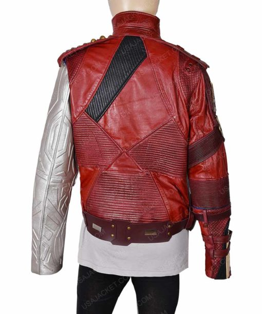 Nebula Leather Jacket