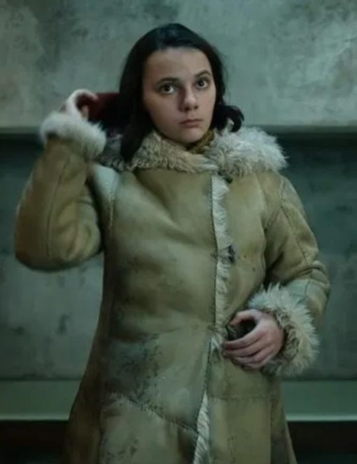 His Dark Materials Lyra Belacqua Coat Front