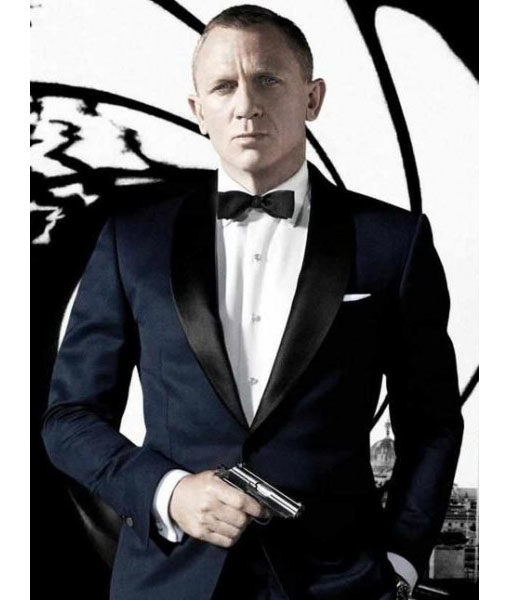James Bond Midnight Blue Skyfall Suit
