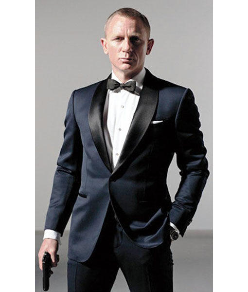 Midnight Blue Skyfall Suit