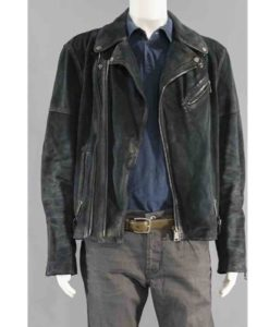 Baby Driver Film Buddy Leather Jacket