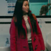 I Still Love You Lara Jean Red Coat