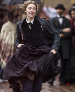 Jo March Black Coat