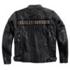Men's Casual Black Harley Davidson Jacket