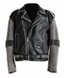 Black Punk Studded Jacket