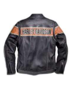 Mens Harley Davidson Black Leather Jacket