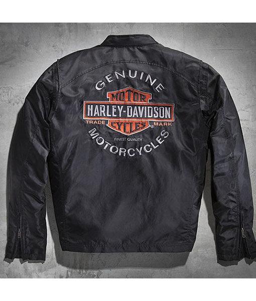 Mens Harley Davidson Roadway Biker Jacket