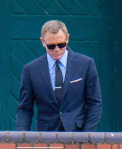 James Bond Navy Blue Suit