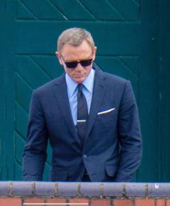 James Bond Navy Blue Suit