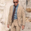No Time to Die James Bond Beige Suit