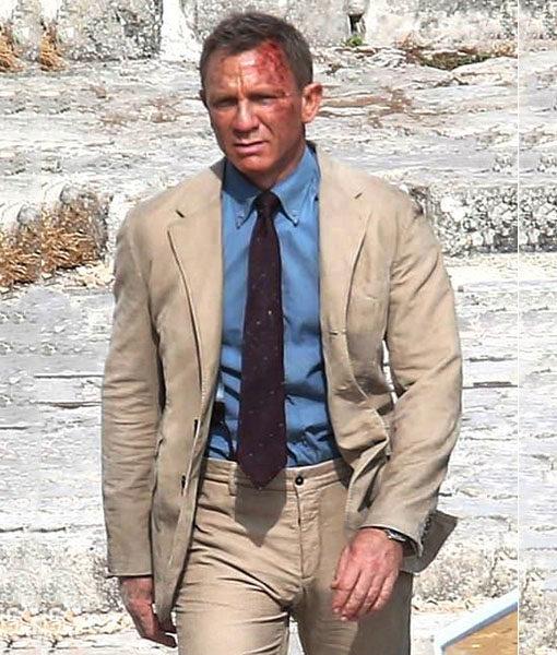 James Bond Beige Suit
