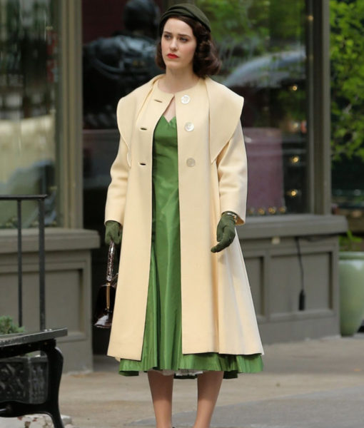 Rachel Brosnahan The Marvelous Coat
