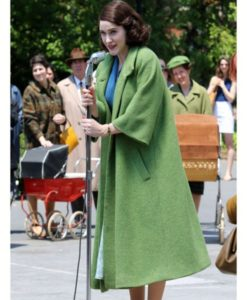 The Marvelous Mrs. Maisel Green Coat