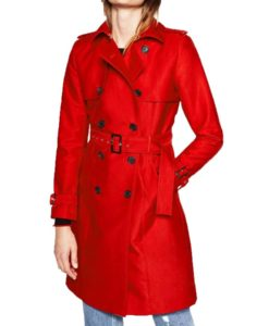 Riverdale Red Double Breasted Coat