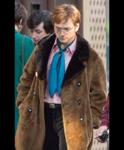 Rocketman Elton John Shearling Jacket
