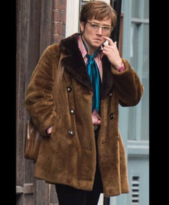 Elton John Shearling Jacket