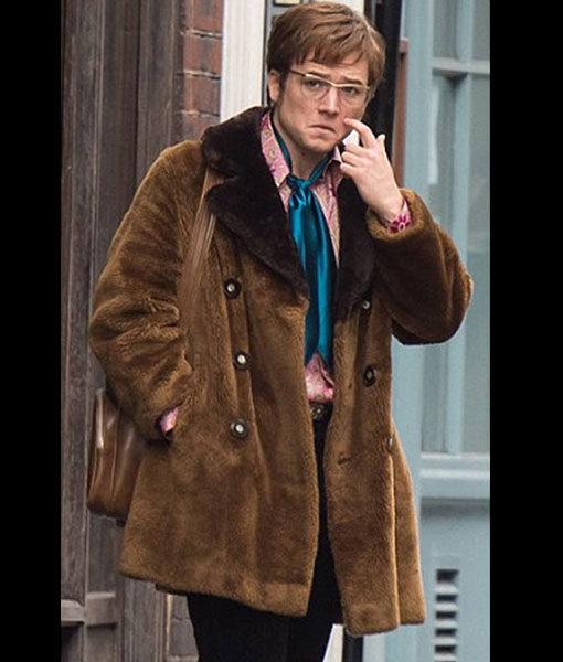 Rocketman Elton John Shearling Jacket