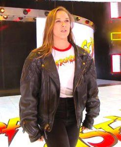 WWE Ronda Bomber Jacket