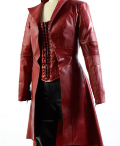 Scarlet Witch Civil War Coat With Vest