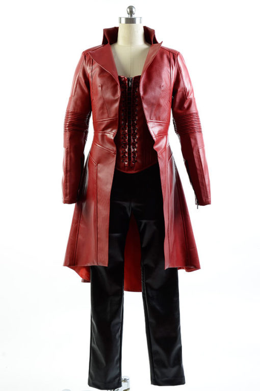 Scarlet Witch Civil War Coat With Vest