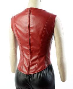 Scarlet Civil War Coat With Vest