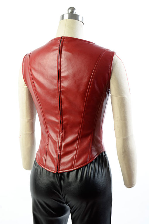 Scarlet Civil War Coat With Vest