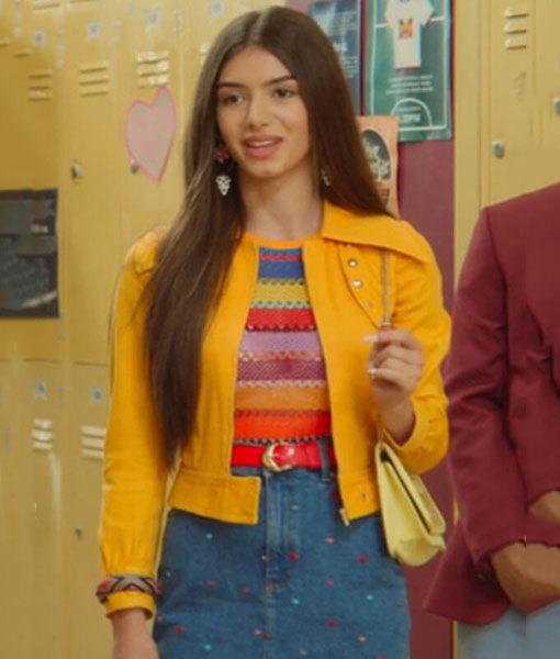 Yellow Mimi Keene Jacket