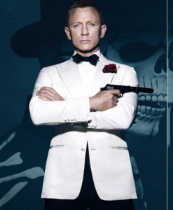 James Bond White Tuxedo