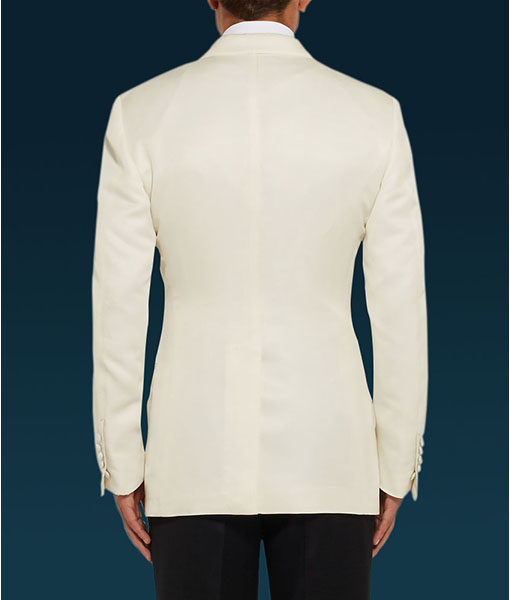 Spectre James Bond White Tuxedo