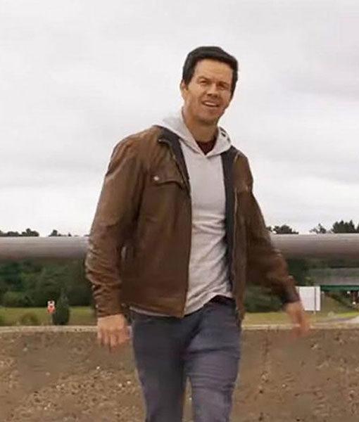 Mark Wahlberg Leather Jacket