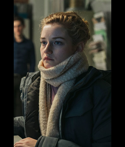 Julia Garner Grey Jacket