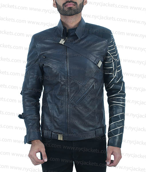 The Falcon And The Winter Soldier Bucky Jacket